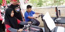 Kampanye Keselamatan Berkendara di Honda DBL