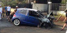 Pemilik Brio Terbakar Sudah Lapor Polisi