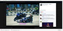 Belok ala Pebalap MotoGP, Bikin Celaka Pengendara Lain
