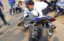 Ini Penjelasan Mesin Sepeda Motor Mati Saat Terjatuh
