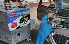 Cara Cepat, Kuras Oli Kompresor AC Mobil Tanpa Copot Baut