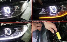 Pasang Lis LED Multifungsi di Lampu Depan