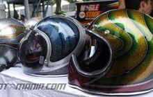 "Harga Bikin Helm Motif ""Airbrush"""