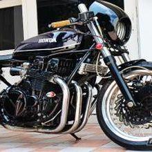 """Honda CB 750 Disulap Gaya """"Cafe Racer"""""""