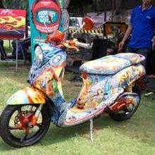 Komunitas Airbrush Indonesia, Tempat Kumpul Seniman Airbrush