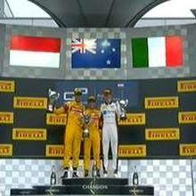 Sean Gelael Naik Podium di GP Austria
