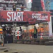 Otomania Speed Zone Drag Bike Riuhkan Gading Serpong