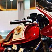 Honda CBX-750, Makin Galak dengan Sentuhan Retro