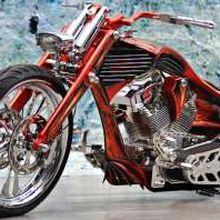 Harley Davidson Softail ala American Pro Street