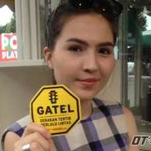 "Olivia Jensen ""GATEL"" kalau di Jalan Raya"
