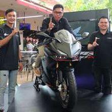 Honda CBR250RR Meluncur di Jawa Barat
