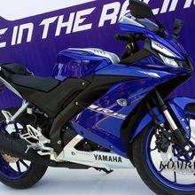 """Suspensi """"Upside Down"""" di Yamaha R15 Terbaru"""