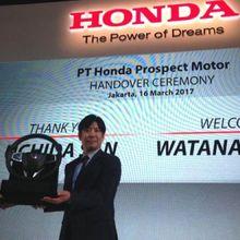 Nahkoda Baru Honda Prospect Motor
