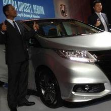 Detail Penyegaran pada Honda Odyssey