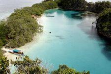 Cantiknya Laguna Pulau Rufas di Raja Ampat