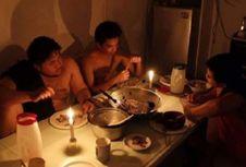 Menunggak Tagihan, Satu Provinsi Mati Lampu