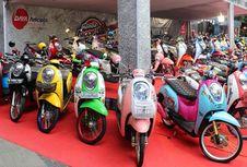 "Sepeda Motor Modifikasi Honda ""Tumpah"" di Bandung"