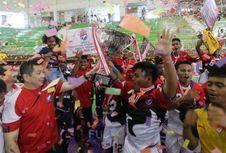 Wakil Papua Juara Liga Futsal U-18
