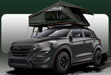 Bisa Buka Tenda di Atap Hyundai Tucson
