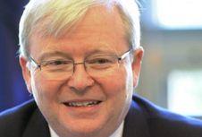 PM Turnbull: Kevin Rudd Tak Cocok Jadi Sekjen PBB