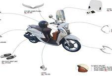 Peranti Pendongkrak Gaya Yamaha Fino Terbaru