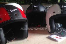 Helm Retro Orisinal dari Piaggio Indonesia