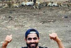 'Selfie' dengan Singa di Taman Safari, Atlet Kriket India Didenda