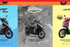 Perbedaan Honda BeAT Sporty, Street, dan Pop