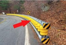 """Inovasi Pembatas Jalan dengan Sistem """"Roller"""""""