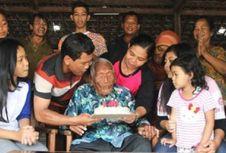 Mbah Gotho Peringati Ulang Tahun Ke-146