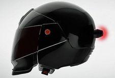 Kini Lampu Rem Bisa Dipasang di Helm
