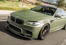 BMW M5 Tampil ala Militer
