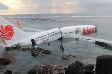 KNKT: Lion Air Jatuh di Bali, Kopilot Tak Lihat Landasan