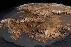 Pegunungan yang Terkubur Es di Antartika Terungkap