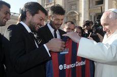 Ketika Paus Fransiskus Bicara soal Pemain Sepak Bola Terbaik Dunia…