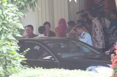 Ahok-Veronica Sambut Jokowi-Iriana Di Rumah Dinas Gubernur