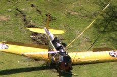 Aktor Harrison Ford Nyaris Terlibat dalam Tabrakan Pesawat Terbang