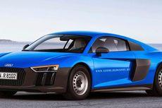 """Begini Tampilan Murah Audi R8 dengan Pelek """"Kaleng"""""""