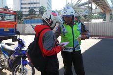 Pengemudi Ojek Minta Jokowi Perbolehkan Motor Lalui Jalan MH Thamrin