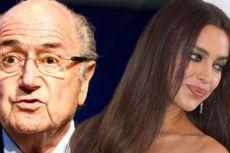 Benarkah Irina Shayk Pacaran dengan Sepp Blatter?