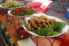 Nikmatnya Sate Lilit dan Lawar Bali di Bazar Belgia