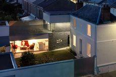 Arsitek Perancis Bangun Rumah Subur dengan Kebun Sayur