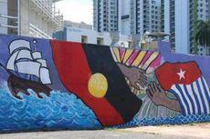 Benarkah RI Tekan Australia untuk Hapus Mural Bendera OPM di Darwin?
