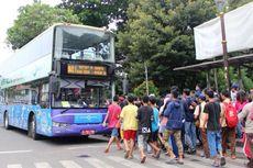 """Beroperasi Normal, Bus Wisata Keliling Jakarta Jadi Opsi """"Ngabuburit"""" Wisatawan"""