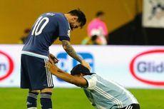Andik Vermansah Sangat Sedih Lihat Messi Pensiun