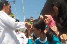 Karniti Jatuh Pingsan di Depan Presiden Jokowi