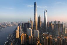 Sabet 3 Rekor Dunia, Lift Shanghai Tower Lebih Cepat dari Usain Bolt