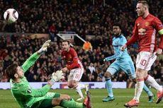 Hasil Liga Europa, Manchester United Menang Telak