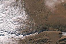 Kali Pertama dalam 37 Tahun, Salju Turun di Gurun Sahara