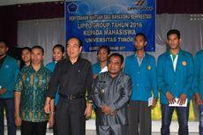 Senyum Mahasiswa Berprestasi di Perbatasan Indonesia-Timor Leste...